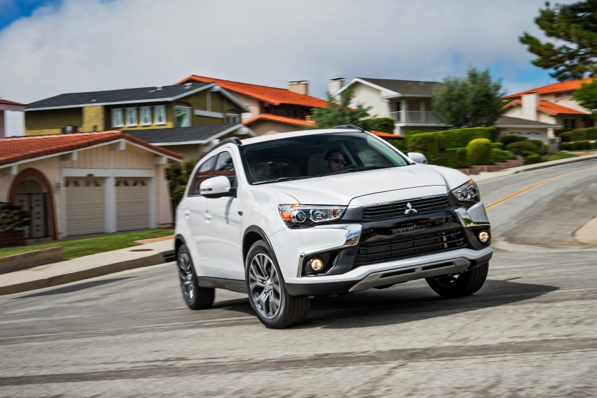 LA 2015: Mitsubishi ASX facelifted for the US market Image #409698
