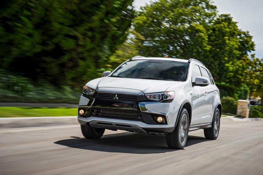 LA 2015: Mitsubishi ASX facelifted for the US market Image #409699
