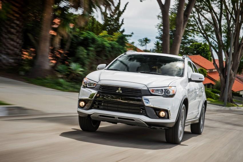LA 2015: Mitsubishi ASX facelifted for the US market Image #409700
