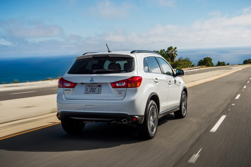 LA 2015: Mitsubishi ASX facelifted for the US market Image #409704