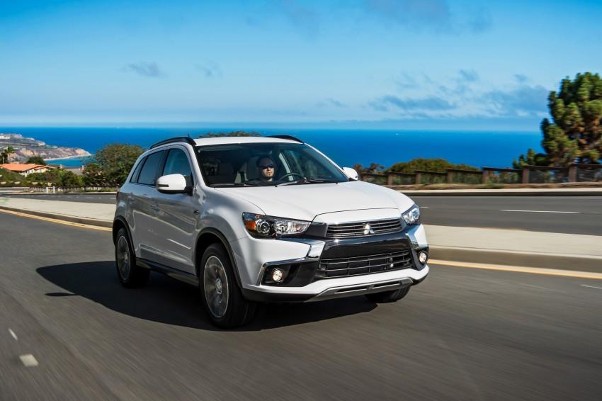 LA 2015: Mitsubishi ASX facelifted for the US market Image #409707