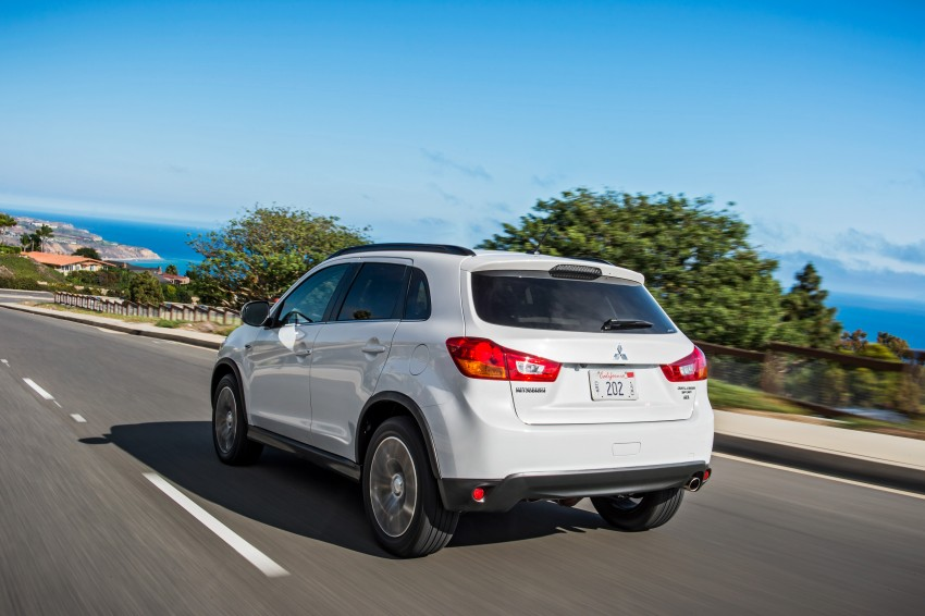 LA 2015: Mitsubishi ASX facelifted for the US market Image #409708