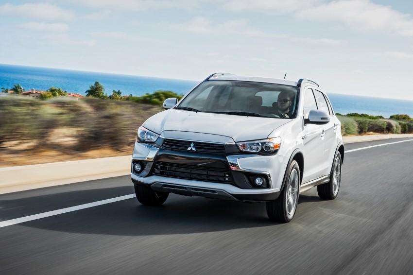 LA 2015: Mitsubishi ASX facelifted for the US market Image #409709