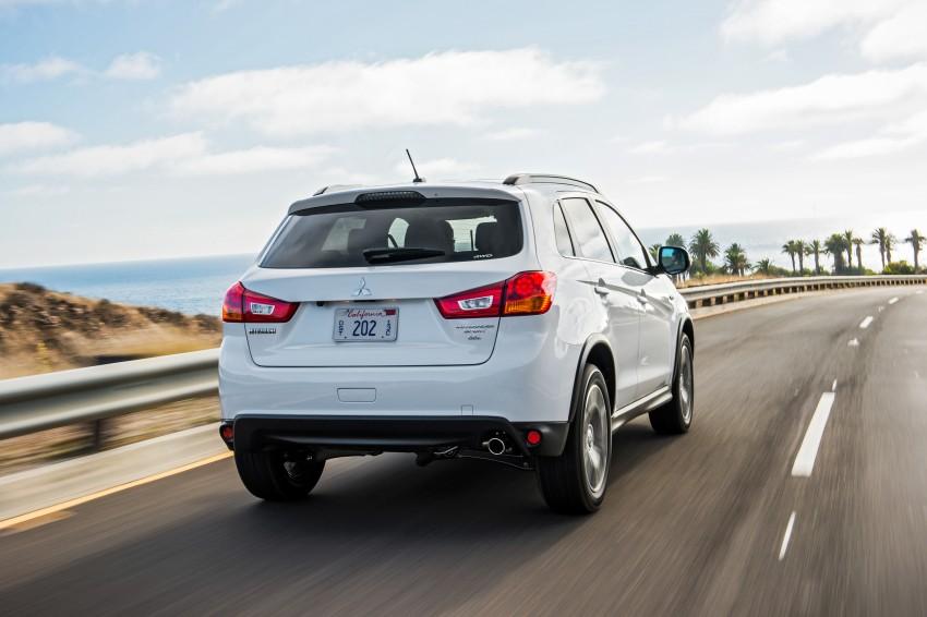 LA 2015: Mitsubishi ASX facelifted for the US market Image #409710