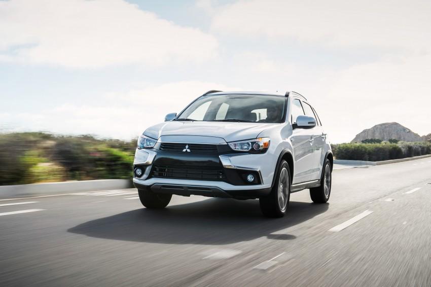 LA 2015: Mitsubishi ASX facelifted for the US market Image #409712