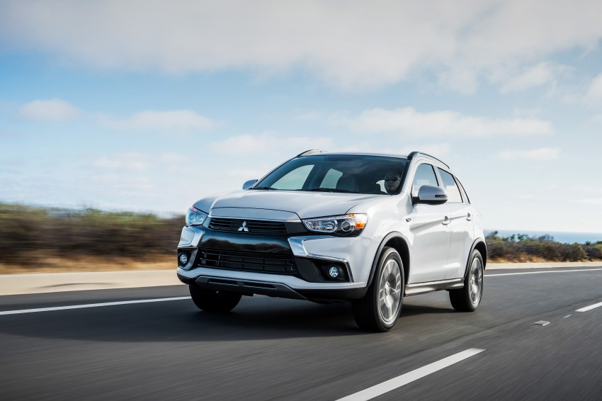 LA 2015: Mitsubishi ASX facelifted for the US market Image #409713