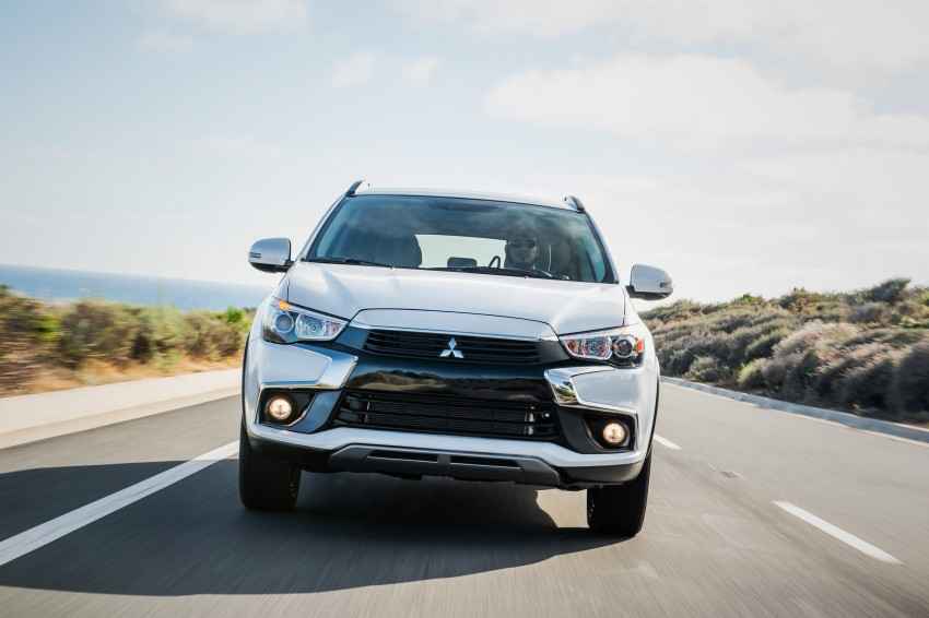 LA 2015: Mitsubishi ASX facelifted for the US market Image #409714