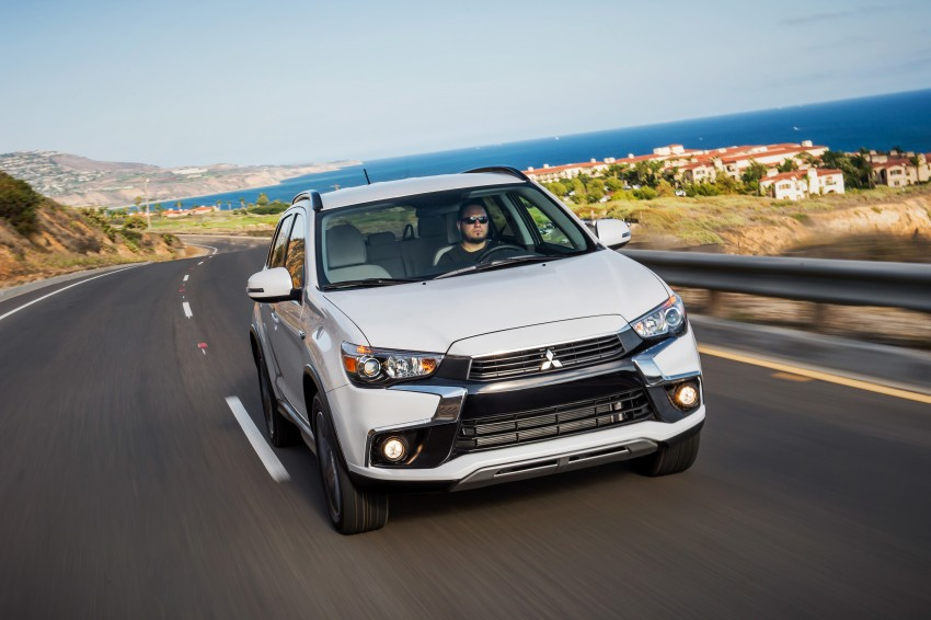 LA 2015: Mitsubishi ASX facelifted for the US market Image #409715