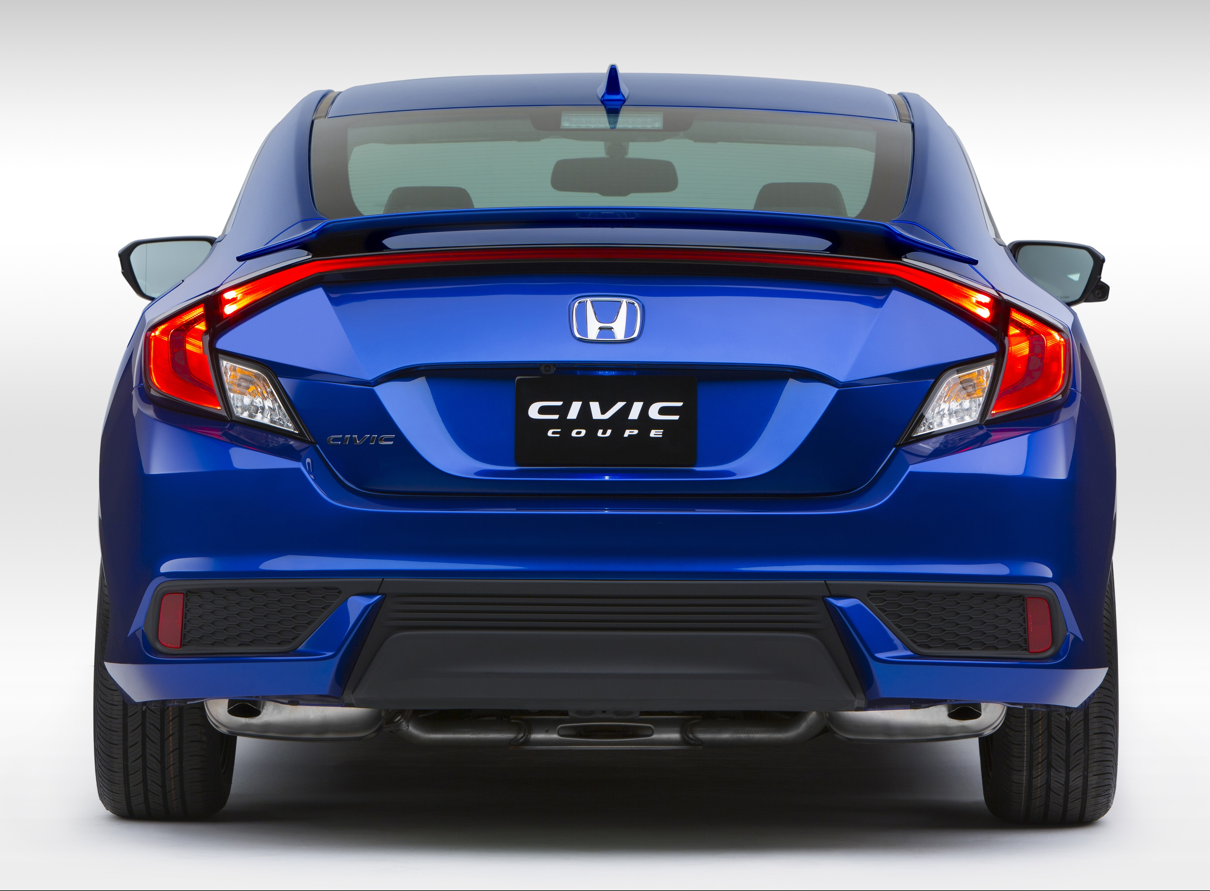 2016 honda civic coupe debuts with 174 hp 1 5l turbo image. Black Bedroom Furniture Sets. Home Design Ideas