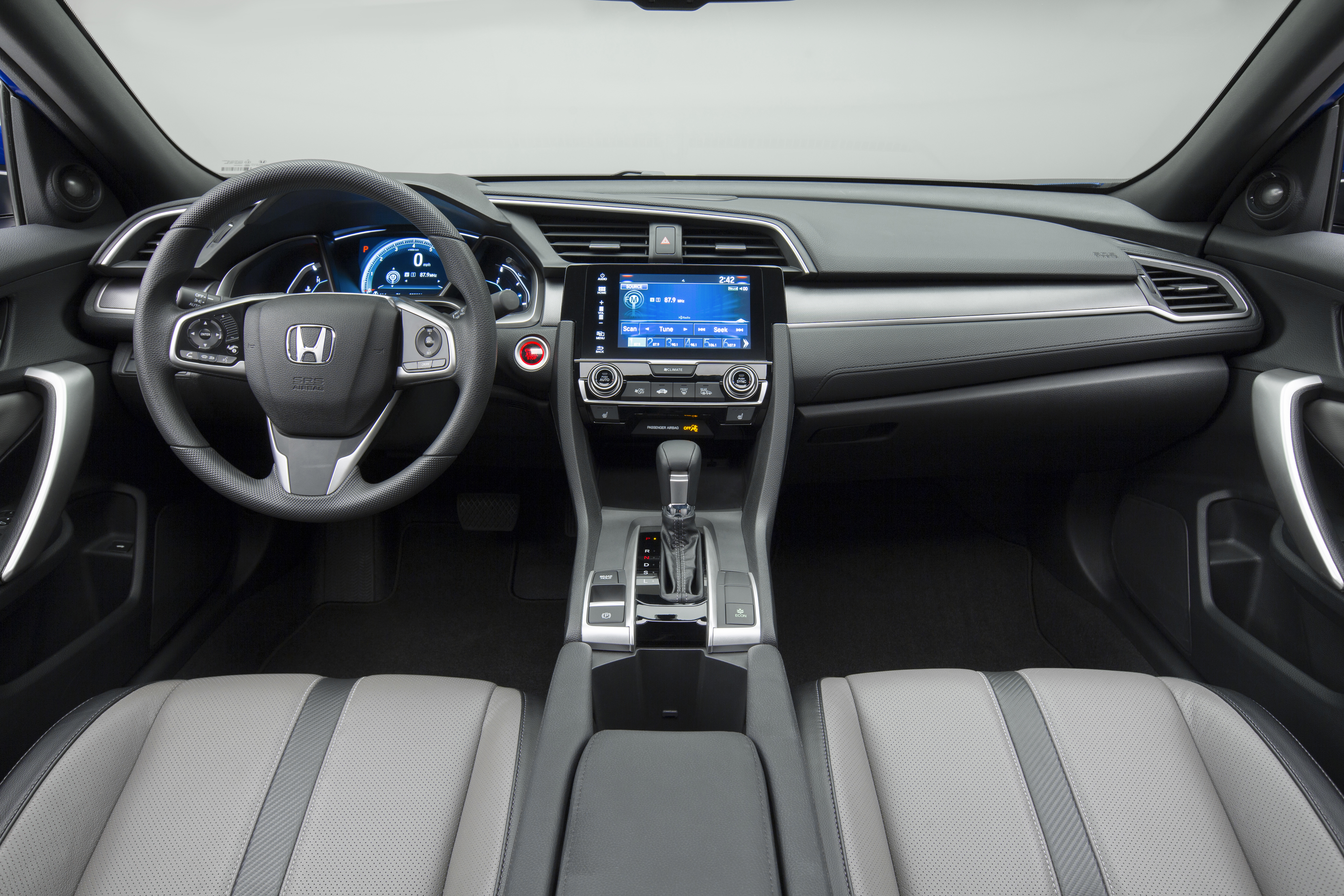 2016 Honda Civic Coupe Debuts With 174 Hp 1 5l Turbo Image