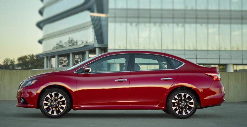 LA 2015: 2016 Nissan Sentra – Sylphy V-motion facelift Image #409597