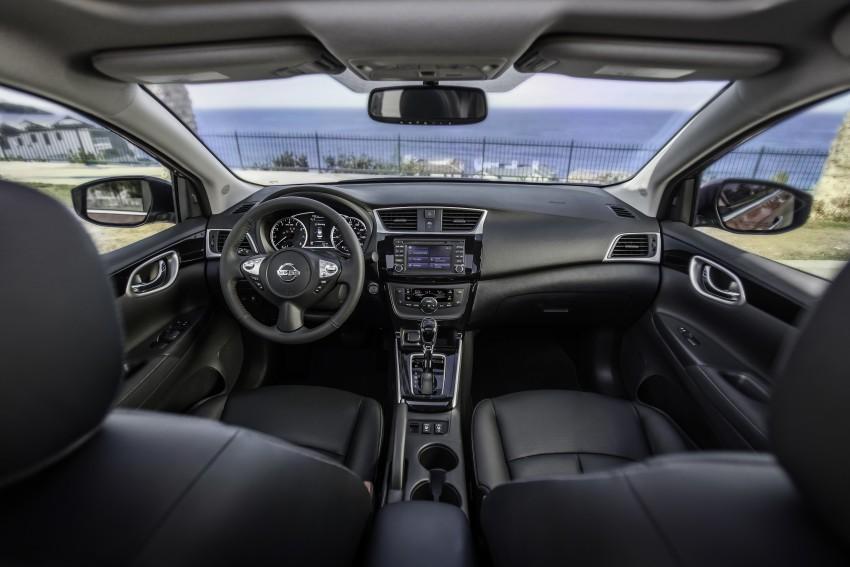 LA 2015: 2016 Nissan Sentra – Sylphy V-motion facelift Image #409630