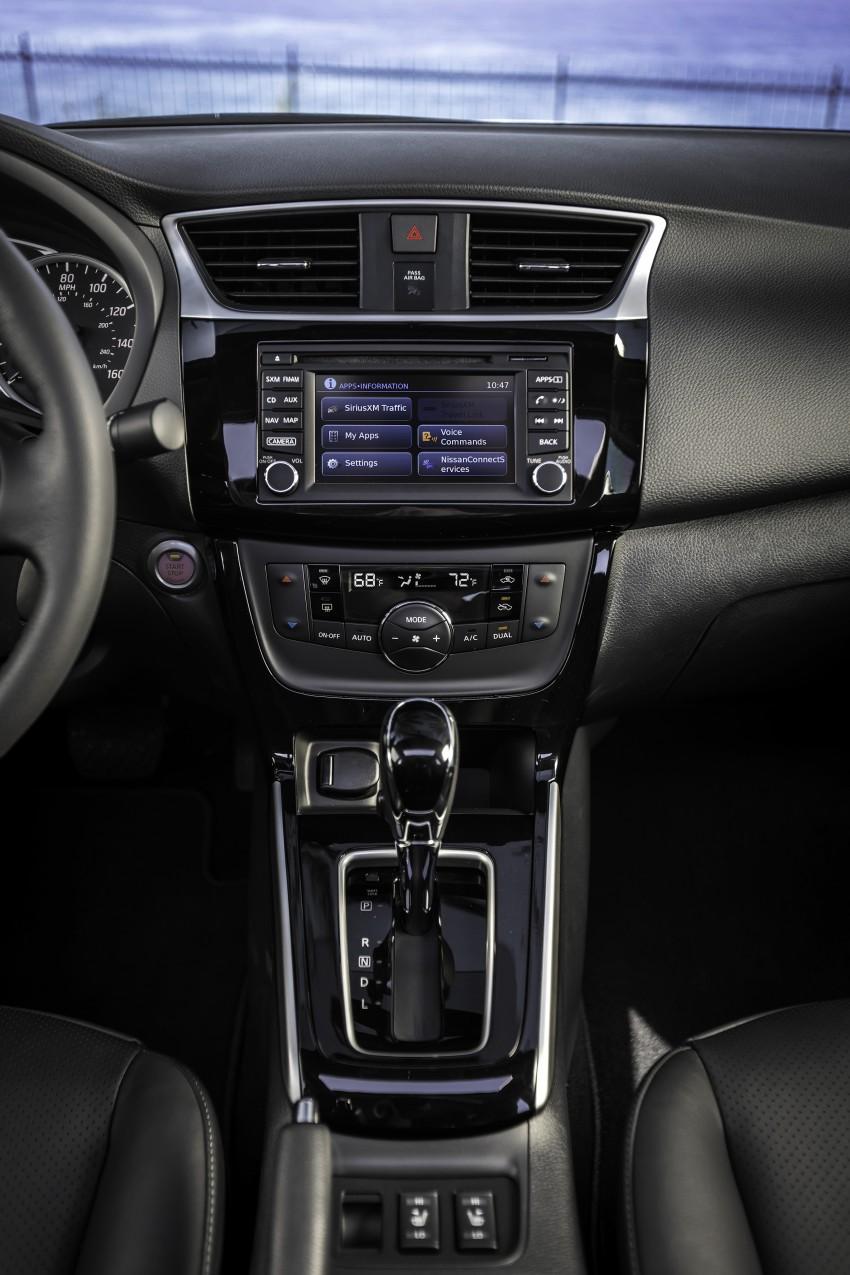 LA 2015: 2016 Nissan Sentra – Sylphy V-motion facelift Image #409634