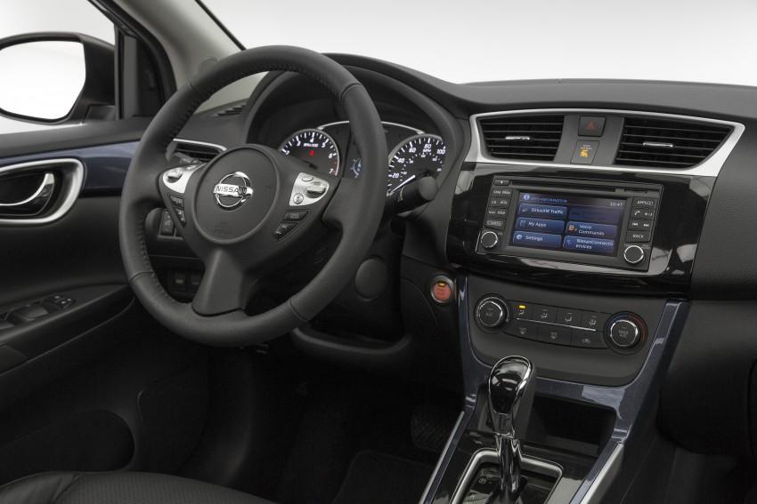 LA 2015: 2016 Nissan Sentra – Sylphy V-motion facelift Image #409637