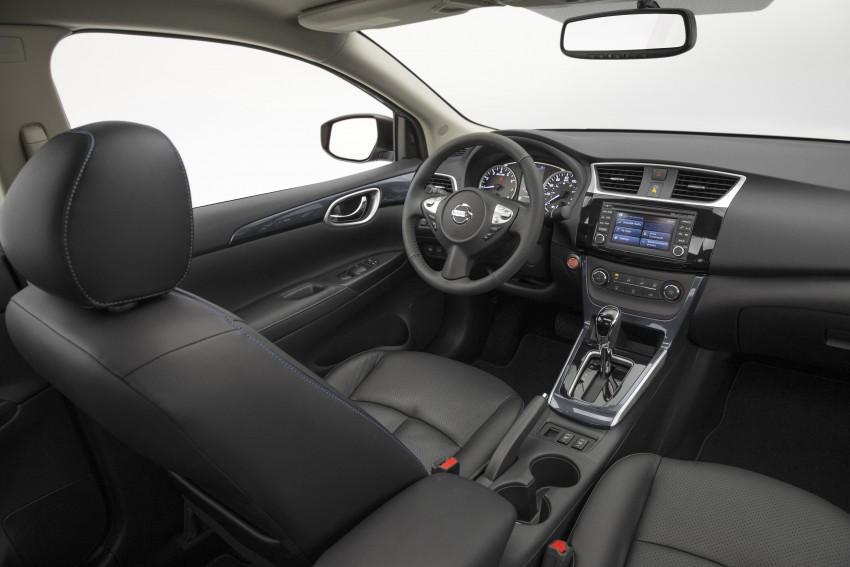 LA 2015: 2016 Nissan Sentra – Sylphy V-motion facelift Image #409640