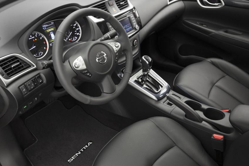 LA 2015: 2016 Nissan Sentra – Sylphy V-motion facelift Image #409650