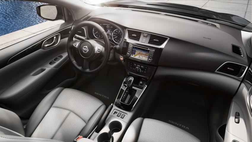 LA 2015: 2016 Nissan Sentra – Sylphy V-motion facelift Image #409670