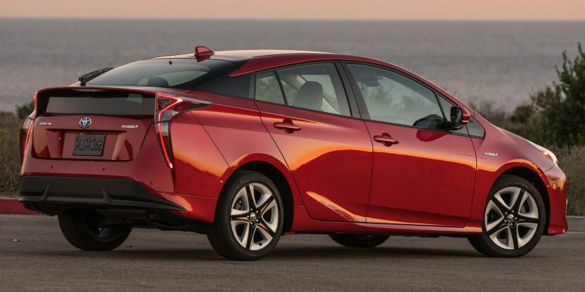 MEGA GALLERY: 2016 Toyota Prius debuts in the US Image #410215