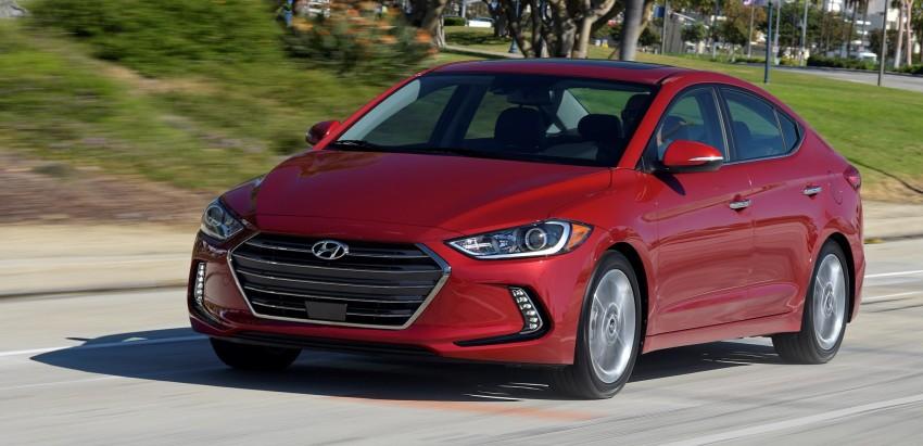 2017 Hyundai Elantra gets new 1.4 turbo, 7-speed DCT Image #409496