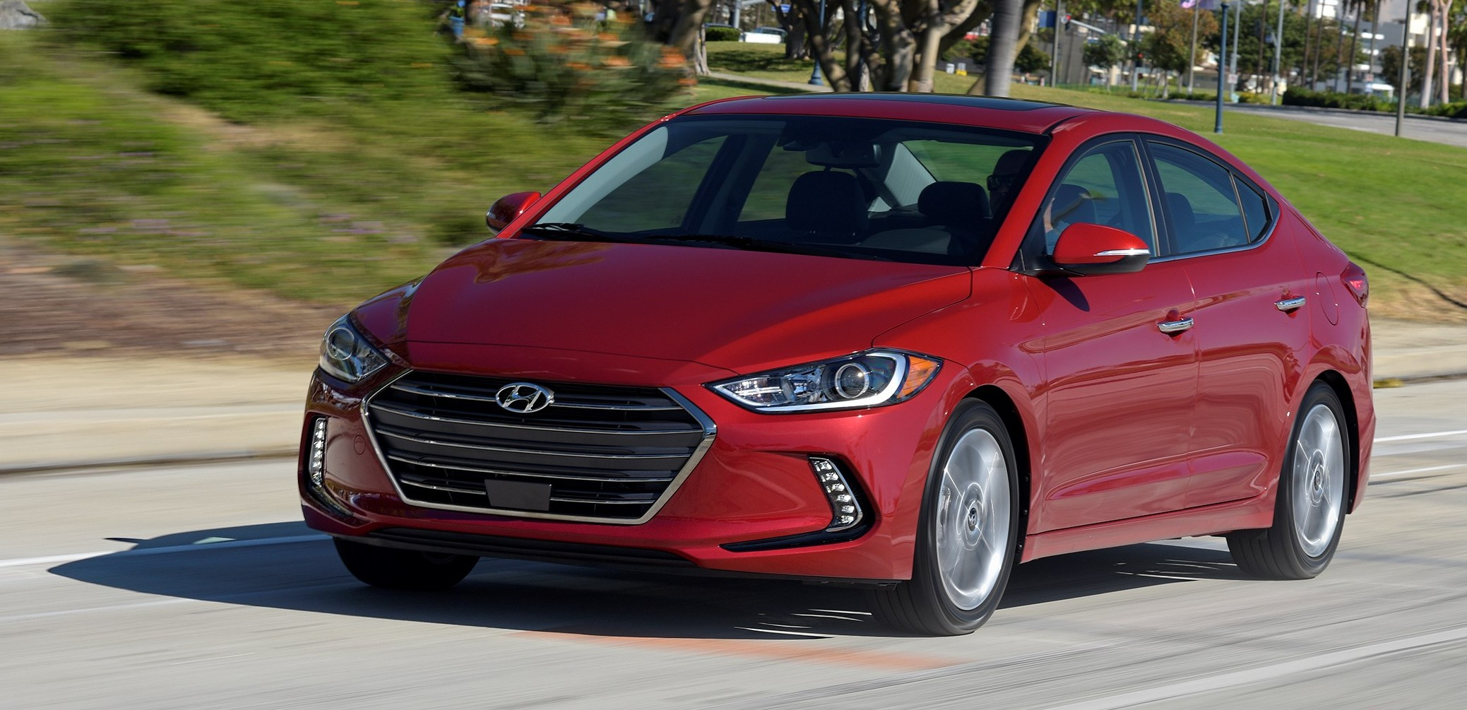 Hyundai Elantra Sedan >> 2017 Hyundai Elantra gets new 1.4 turbo, 7-speed DCT Image 409496
