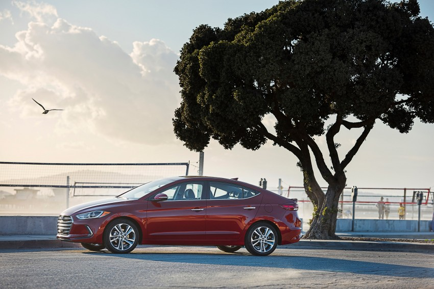 2017 Hyundai Elantra gets new 1.4 turbo, 7-speed DCT Image #409505