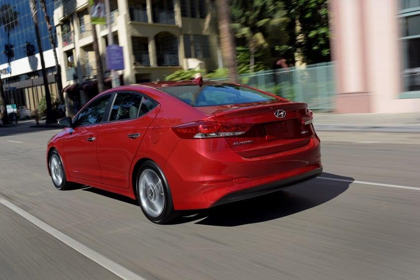 2017 Hyundai Elantra gets new 1.4 turbo, 7-speed DCT Image #409507