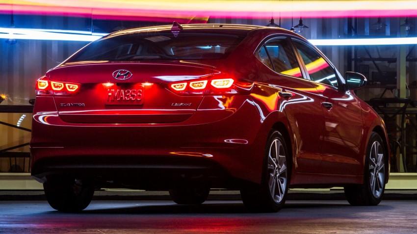 2017 Hyundai Elantra gets new 1.4 turbo, 7-speed DCT Image #409508