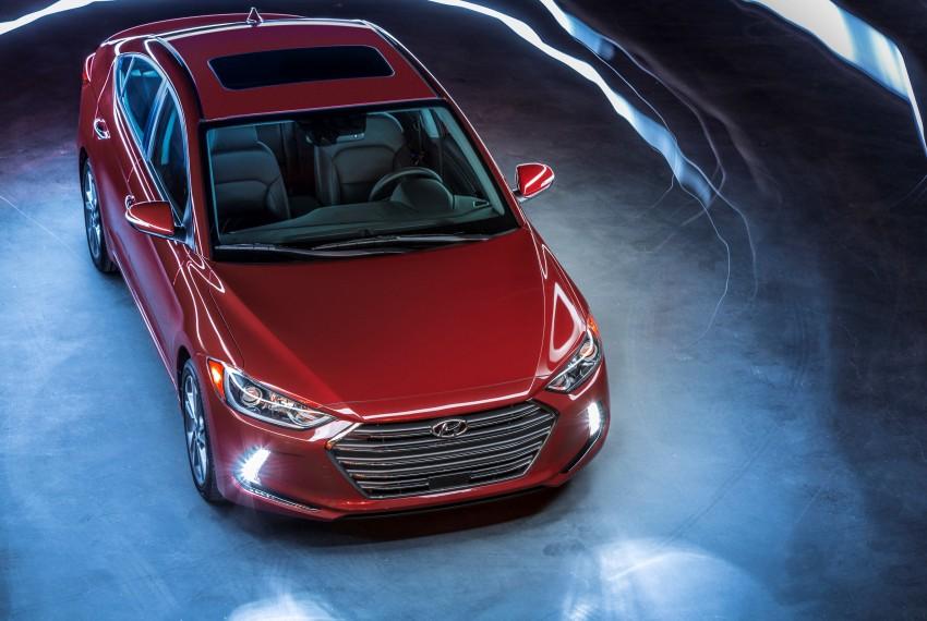 2017 Hyundai Elantra gets new 1.4 turbo, 7-speed DCT Image #409497
