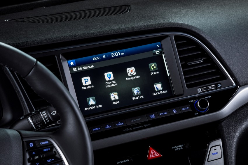 2017 Hyundai Elantra gets new 1.4 turbo, 7-speed DCT Image #409517