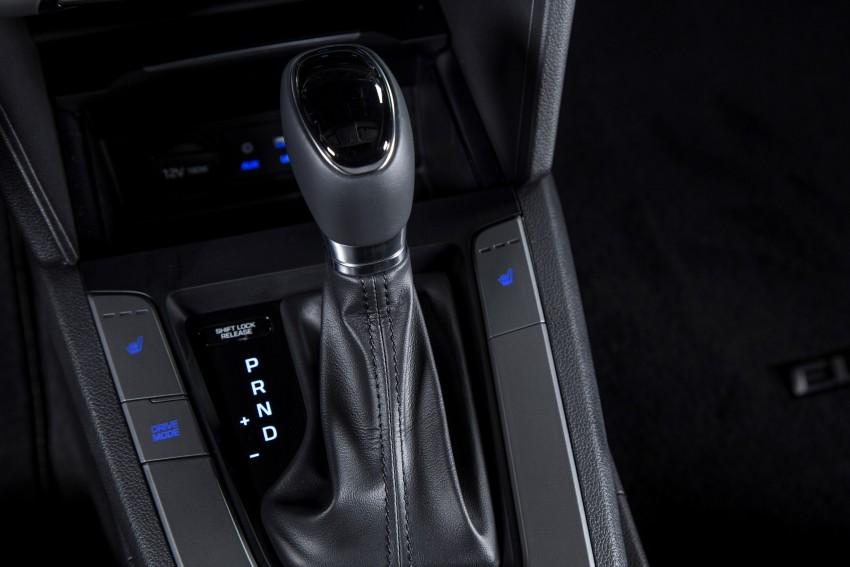 2017 Hyundai Elantra gets new 1.4 turbo, 7-speed DCT Image #409522