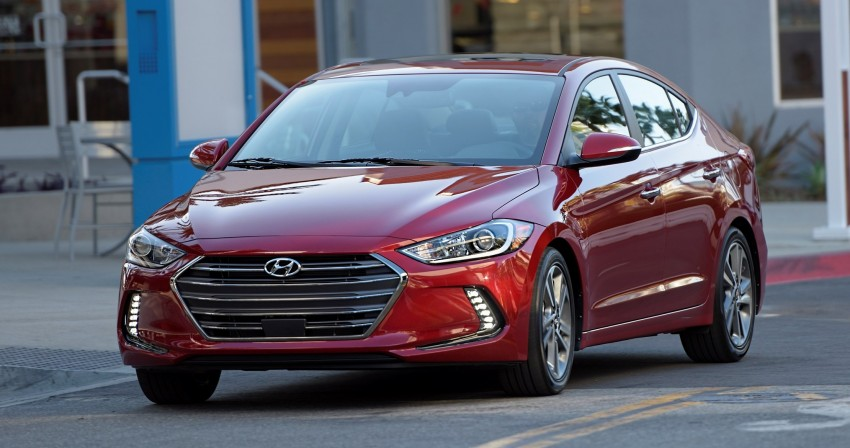 2017 Hyundai Elantra gets new 1.4 turbo, 7-speed DCT Image #409498