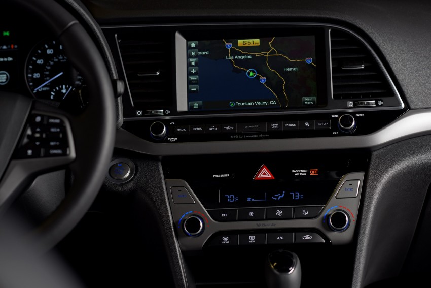 2017 Hyundai Elantra gets new 1.4 turbo, 7-speed DCT Image #409538