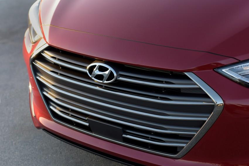 2017 Hyundai Elantra gets new 1.4 turbo, 7-speed DCT Image #409541