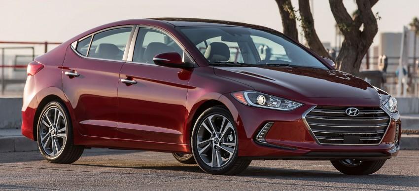 2017 Hyundai Elantra gets new 1.4 turbo, 7-speed DCT Image #409500