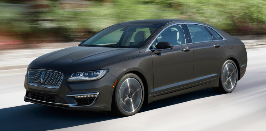 LA 2015: 2017 Lincoln MKZ, now with 400 hp turbo V6 Image #410757