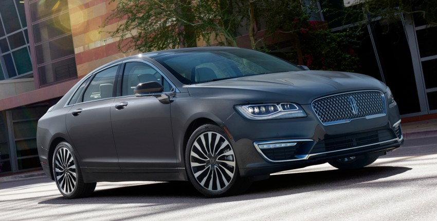 LA 2015: 2017 Lincoln MKZ, now with 400 hp turbo V6 Image #410758