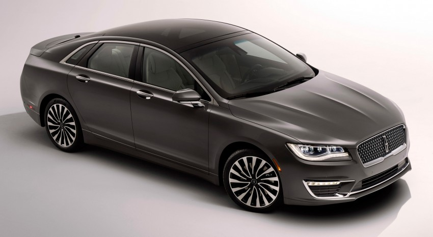 LA 2015: 2017 Lincoln MKZ, now with 400 hp turbo V6 Image #410759