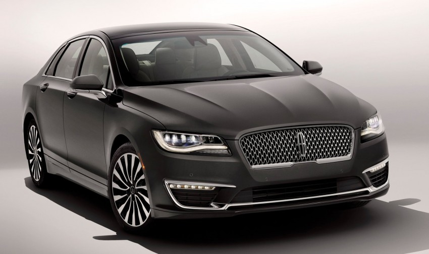 LA 2015: 2017 Lincoln MKZ, now with 400 hp turbo V6 Image #410763