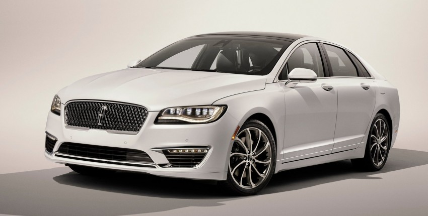 LA 2015: 2017 Lincoln MKZ, now with 400 hp turbo V6 Image #410764