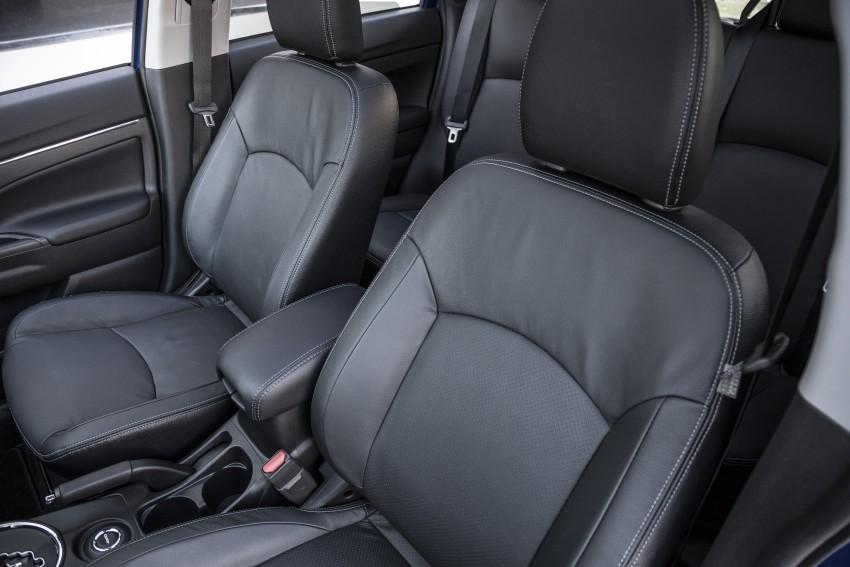 LA 2015: Mitsubishi ASX facelifted for the US market Image #409727