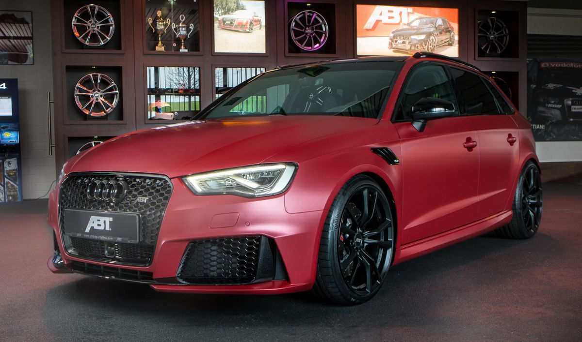 Abt Audi Rs3 Superhatch Boosted To 443 Hp 550 Nm