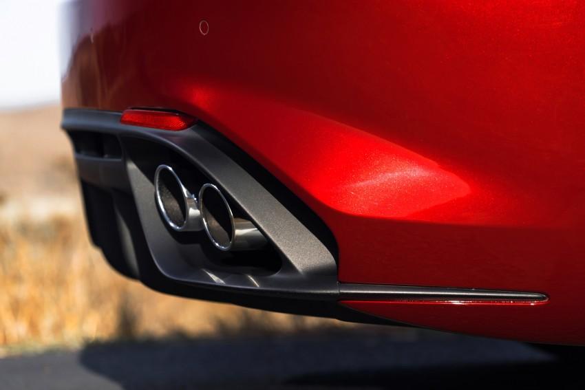 2017 Alfa Romeo Giulia Quadrifoglio fully detailed, 505 hp/600 Nm sedan set to make US debut in Q2 2016 Image #409138