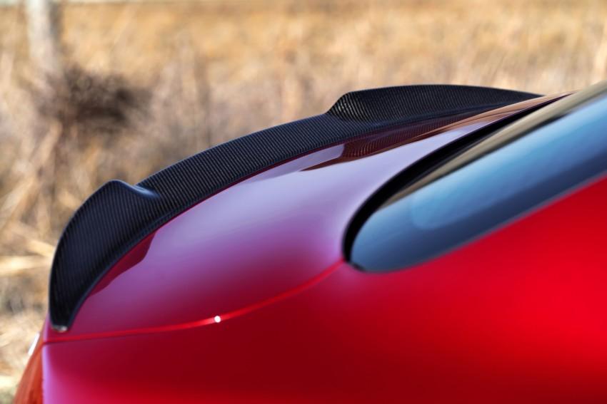 2017 Alfa Romeo Giulia Quadrifoglio fully detailed, 505 hp/600 Nm sedan set to make US debut in Q2 2016 Image #409143