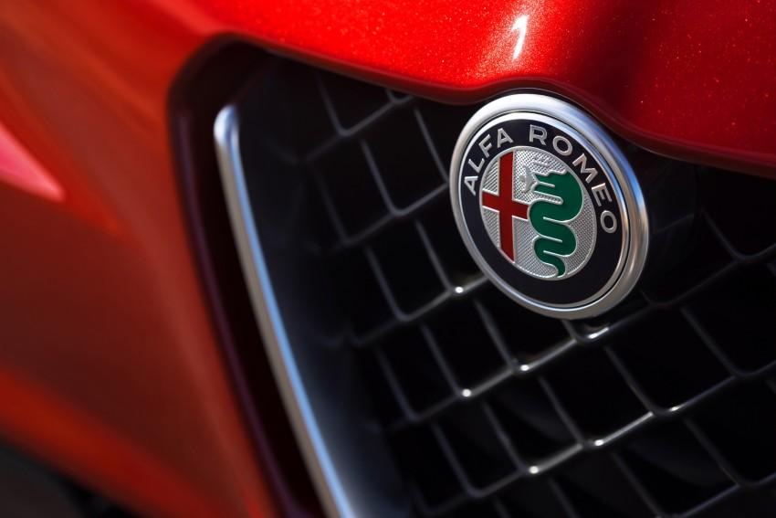 2017 Alfa Romeo Giulia Quadrifoglio fully detailed, 505 hp/600 Nm sedan set to make US debut in Q2 2016 Image #409155
