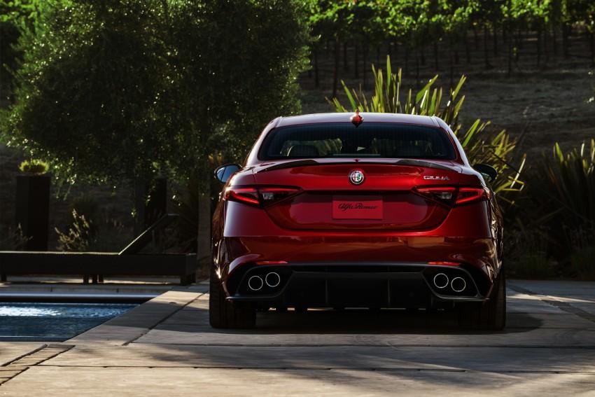 2017 Alfa Romeo Giulia Quadrifoglio fully detailed, 505 hp/600 Nm sedan set to make US debut in Q2 2016 Image #409161