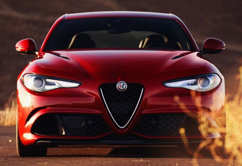 2017 Alfa Romeo Giulia Quadrifoglio fully detailed, 505 hp/600 Nm sedan set to make US debut in Q2 2016 Image #409164