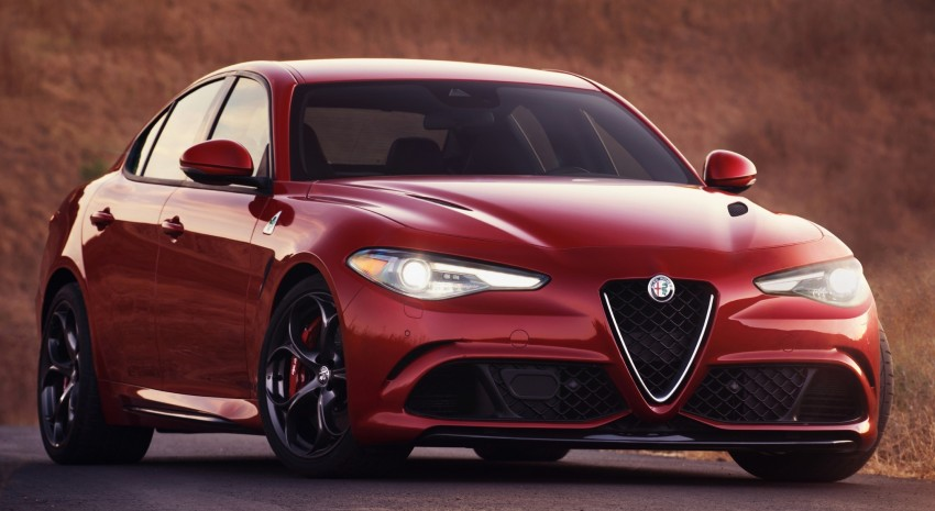 2017 Alfa Romeo Giulia Quadrifoglio fully detailed, 505 hp/600 Nm sedan set to make US debut in Q2 2016 Image #409166