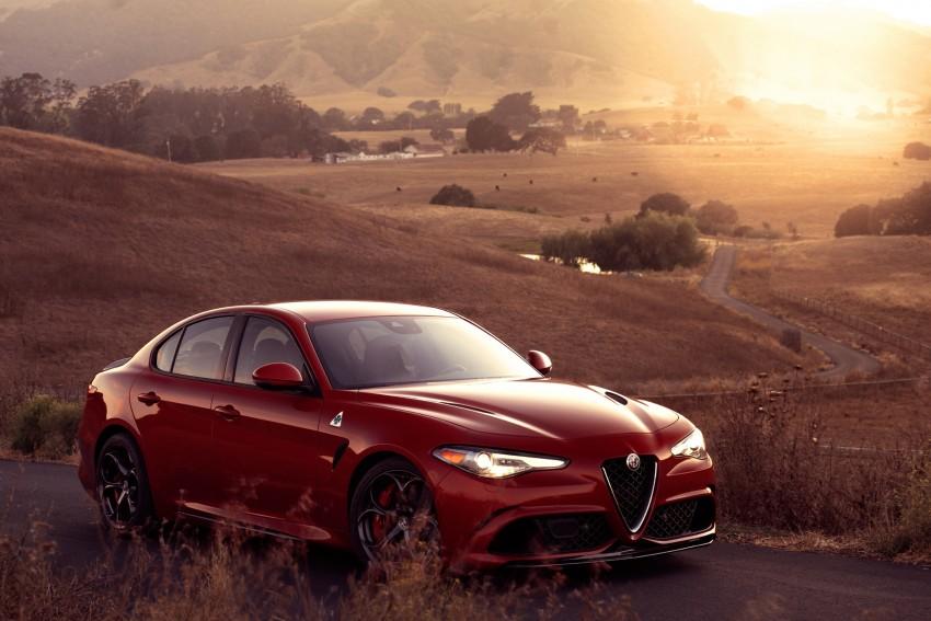 2017 Alfa Romeo Giulia Quadrifoglio fully detailed, 505 hp/600 Nm sedan set to make US debut in Q2 2016 Image #409167