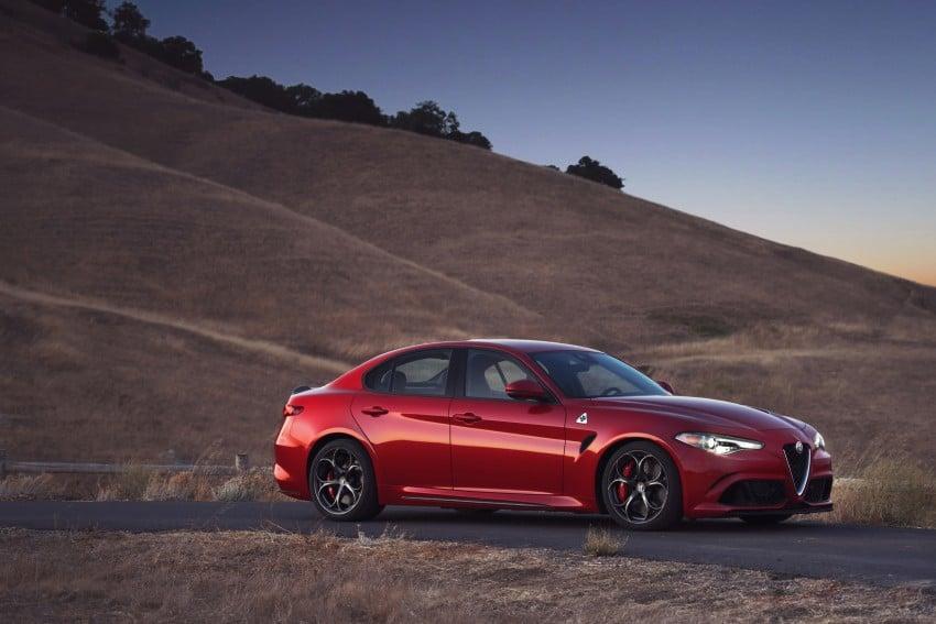 2017 Alfa Romeo Giulia Quadrifoglio fully detailed, 505 hp/600 Nm sedan set to make US debut in Q2 2016 Image #409168