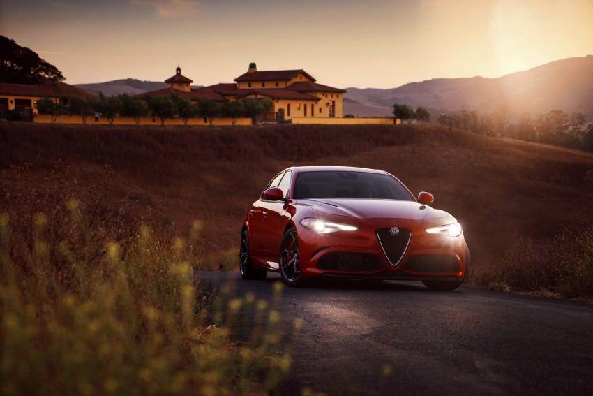 2017 Alfa Romeo Giulia Quadrifoglio fully detailed, 505 hp/600 Nm sedan set to make US debut in Q2 2016 Image #409169